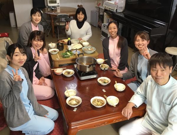 2019 忘年会鴨鍋 トリミング2